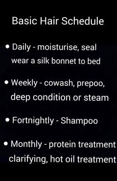 basic hair practices
