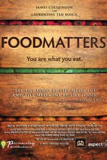 "Food Matters is a 2008 film about nutrition.[1] The film presents the thesis that a selective diet can play a key role in treating a range of health conditions such as diabetes, cancer, heart disease and depression, often substituting for medical treatment. Furthermore, it tends to label the medical industry as a ""sickness industry"", which profits more from treating the symptoms of illness than curing the illness"