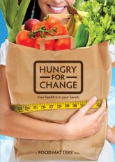 HUNGRY FOR CHANGE exposes shocking secrets the diet, weight loss and food industries don't want you to know about deceptive strategies designed to keep you coming back for more.