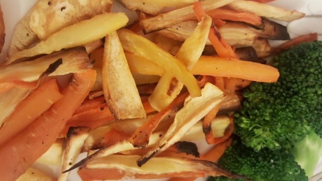 Parsnip & Carrot Fries